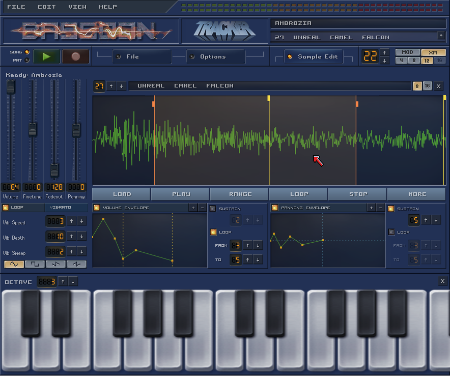 BassoonTracker Sample Editor